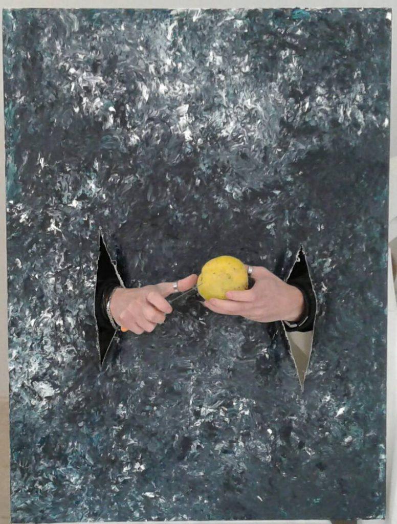 foto taglio della mela