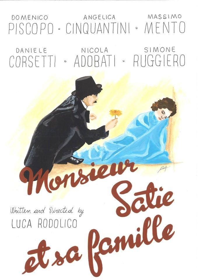 Locandina Monsieur Satie et sa famille